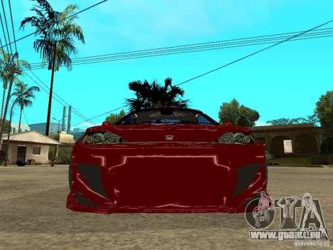 Honda CRX ED9 pour GTA San Andreas vue de droite