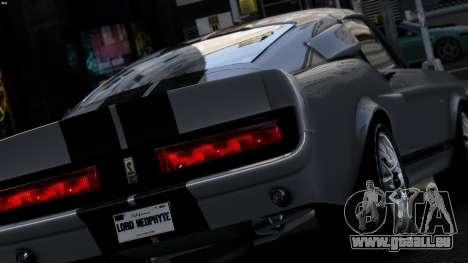 Ford Shelby Mustang GT500 Eleanor für GTA 4 linke Ansicht