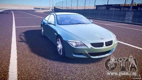 BMW M6 v1.0 für GTA 4 Innenansicht