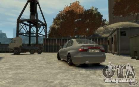 Seat Toledo 1.9TDi Sedan pour GTA 4 est une gauche