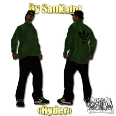 New Sweet, Smoke and Ryder v1.0 für GTA San Andreas her Screenshot