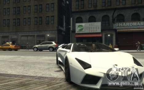 Lamborghini Reventon Roadster REDUX [EPM] pour GTA 4 Vue arrière