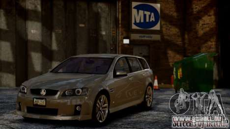 Holden VE Commodore Sportwagon SS 2009 für GTA 4 hinten links Ansicht