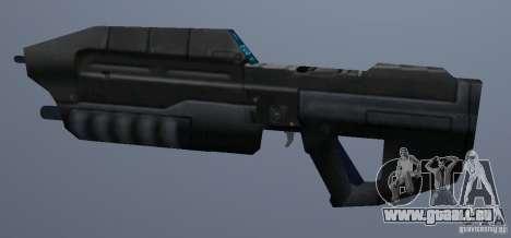 MA5B-Sturmgewehr beta v.1.0 GTA Vice City pour la troisième écran