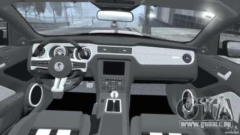 Ford Shelby GT500 2010 [Final] für GTA 4 rechte Ansicht