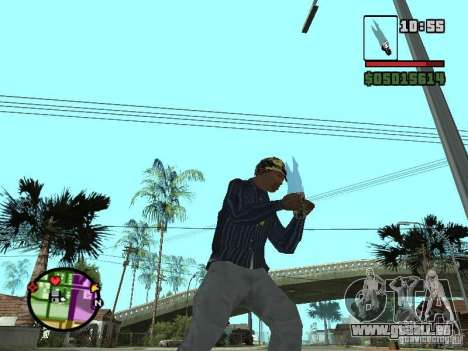 G: pour GTA San Andreas troisième écran