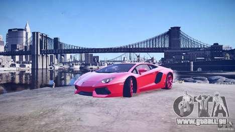 Lamborghini Aventador LP700-4 v1.0 pour GTA 4 est une vue de dessous