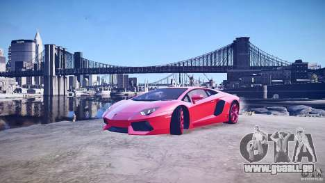 Lamborghini Aventador LP700-4 v1.0 für GTA 4 Unteransicht