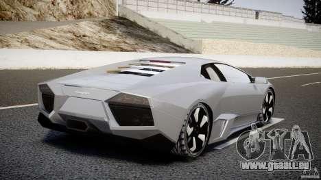 Lamborghini Reventon v2 pour GTA 4 Vue arrière de la gauche