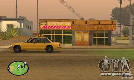 Boutique ADIDAS pour GTA San Andreas deuxième écran