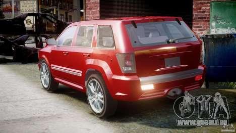 Dodge Durango [Beta] pour GTA 4 Vue arrière de la gauche
