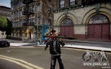 RPG-7 von MW3 für GTA 4 Sekunden Bildschirm