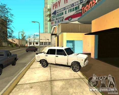 Kopeyka (corrigé) pour GTA San Andreas vue intérieure