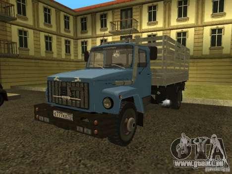 GAZ 3309 pour GTA San Andreas