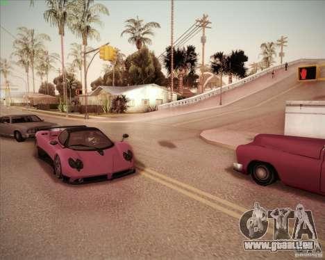 Pagani Zonda F V1.0 pour GTA San Andreas vue de droite