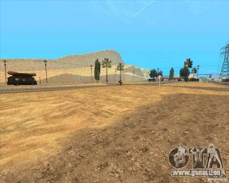 Desert HQ pour GTA San Andreas huitième écran
