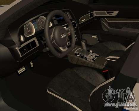 Audi RS6 2010 DPS für GTA San Andreas rechten Ansicht