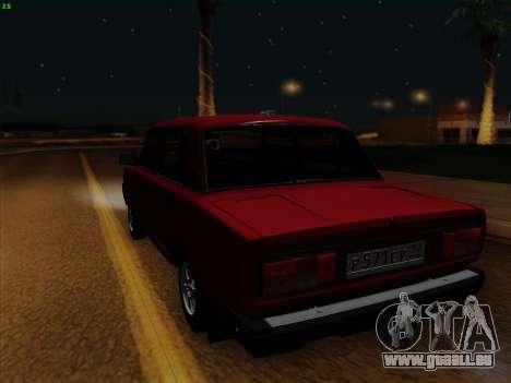 VAZ 21054 pour GTA San Andreas vue arrière