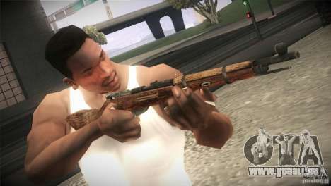 Weapon Pack by GVC Team pour GTA San Andreas septième écran