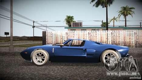 Ford GT pour GTA San Andreas laissé vue