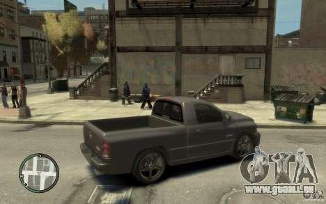 Dodge Ram SRT10 für GTA 4 rechte Ansicht