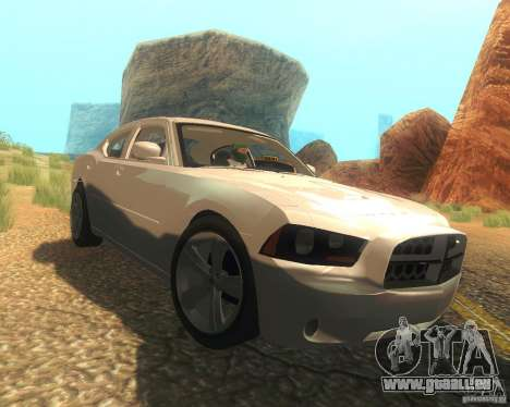 Dodge Charger 2011 pour GTA San Andreas vue de côté