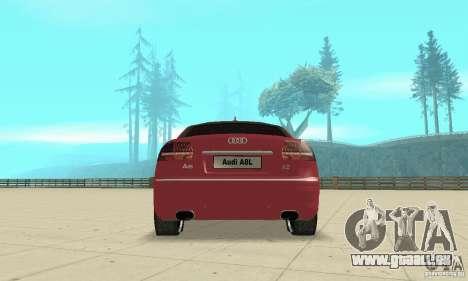 Audi A8L 4.2 FSI pour GTA San Andreas moteur