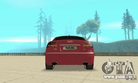 Audi A8L 4.2 FSI für GTA San Andreas Motor