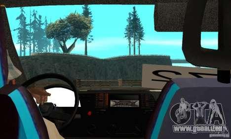 Gazelle Koulnev obezbašennaâ pour GTA San Andreas vue de droite