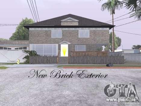 CJ Total House Remodel V 2.0 pour GTA San Andreas cinquième écran