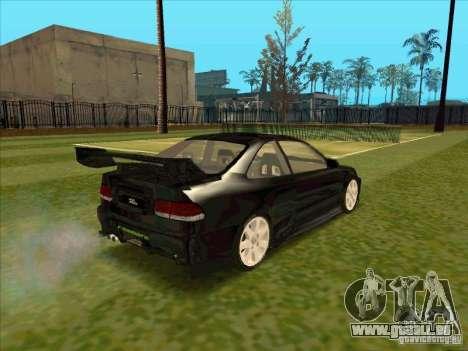 Honda Civic Coupe 1995 from FnF 1 pour GTA San Andreas sur la vue arrière gauche