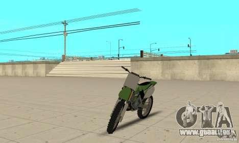 Kawasaki KX250 für GTA San Andreas