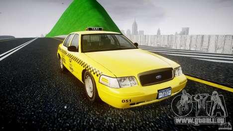 Ford Crown Victoria Raccoon City Taxi pour GTA 4 est un droit