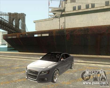 Audi S5 V8 custom 2008 pour GTA San Andreas