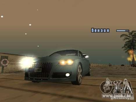Audi TT 2006 für GTA San Andreas linke Ansicht
