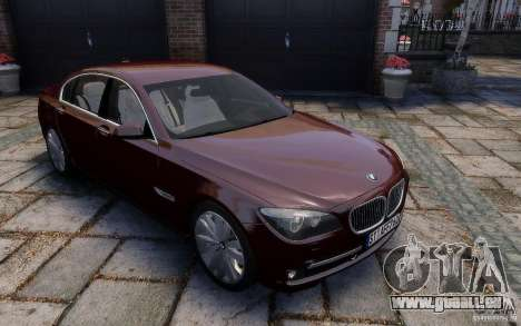 BMW 760Li 2011 pour GTA 4 est un côté