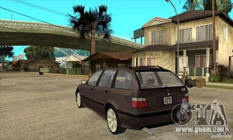 BMW 318i Touring für GTA San Andreas rechten Ansicht