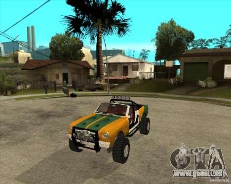 Ford Mustang Sandroadster für GTA San Andreas