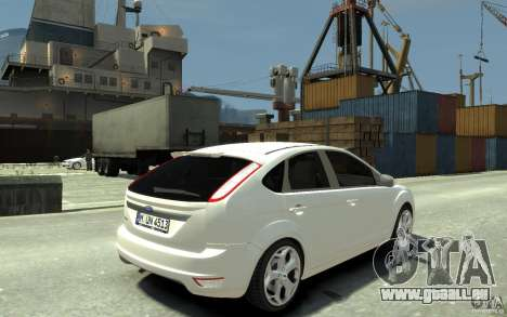 Ford Focus 2009 pour GTA 4 est un droit