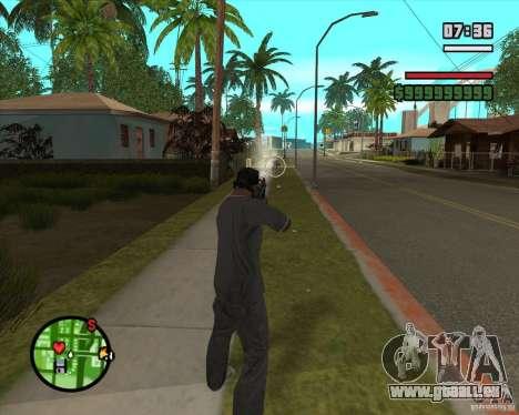 GTA IV Target v.1.0 pour GTA San Andreas quatrième écran