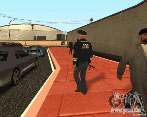 Major DPS pour GTA San Andreas troisième écran