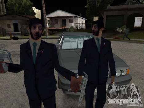 Gypaète barbu ou Galustyan pour GTA San Andreas deuxième écran