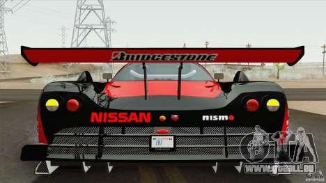 Nissan R390 GT1 1998 v1.0.1 pour GTA San Andreas laissé vue