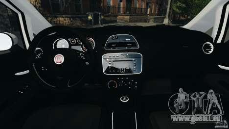 Fiat Punto Evo Sport 2012 v1.0 [RIV] pour GTA 4 Vue arrière
