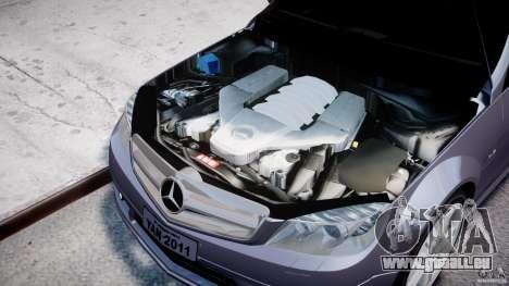 Mercedes-Benz C180 CGi Classic Special 2009 pour GTA 4 est un droit