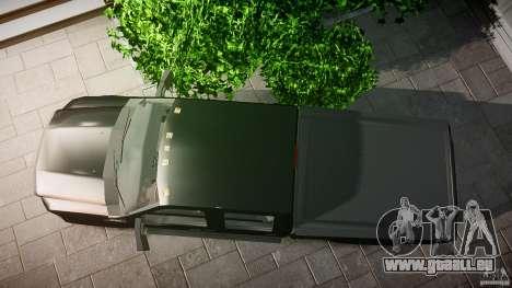 Ford F-350 Unmarked [ELS] für GTA 4 rechte Ansicht