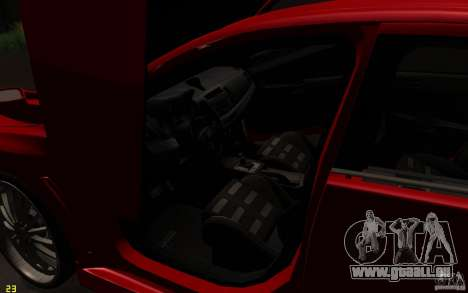 Mitsubishi Lancer EVO X drift Tune pour GTA San Andreas vue de côté