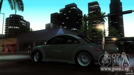 Volkswagen Beetle RSi Tuned für GTA San Andreas Innenansicht