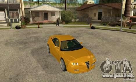 Alfa Romeo GTV pour GTA San Andreas vue arrière