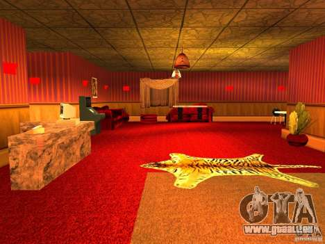 Bordel Cj v1.0 pour GTA San Andreas quatrième écran